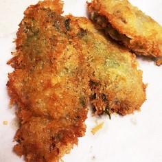 牡蠣の梅シソ巻き