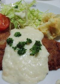 ラム肉のカツレツ スービーズソース
