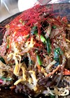 手間だけど美味い!韓国春雨のチャプチェ