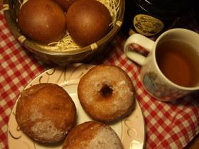 紅茶ドーナッツ