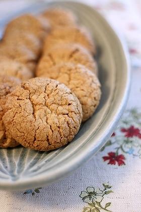 サクサク白胡麻クッキー