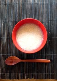 断食ファスティング。回復食!玄米重湯