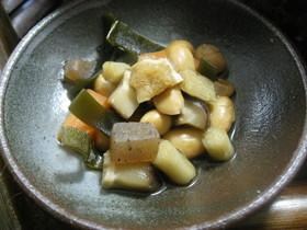 我が家の常備菜  五目豆