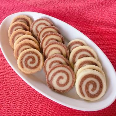 簡単♡うずまきアイスボックスクッキー♪