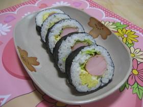 朝食✿お弁当にもOK♡簡単海苔巻き
