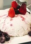 生クリームで簡単アイスケーキ♪