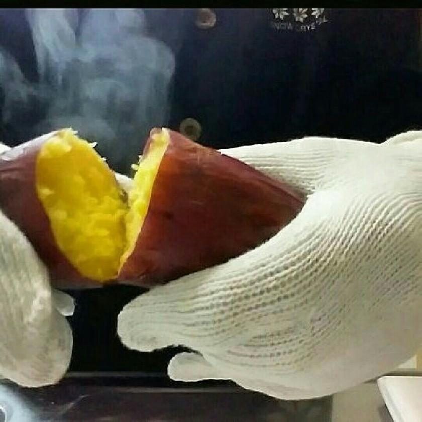 オーブンで放置するだけ!とろける焼き芋