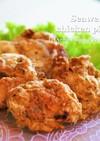 簡単★海苔の佃煮でしっとり鶏のピカタ♡