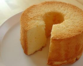 飽きない!美味しい!レモンシフォンケーキ