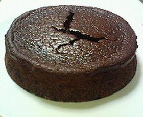 うちのチョコレートケーキ