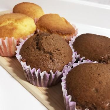 HM★簡単プーレン&ココアカップケーキ