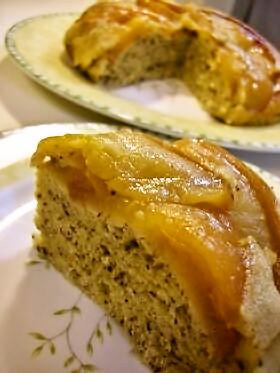 ノンオイル☆炊飯器で紅茶アップルケーキ