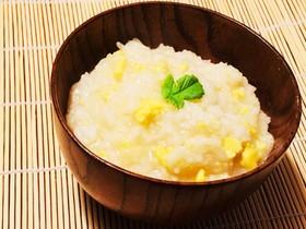 あったか♪簡単卵雑炊~炊飯器で出来ます~