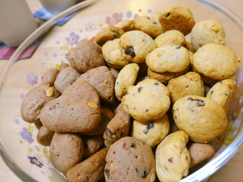 節分豆入りチョコチップクッキー