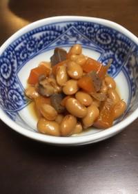 圧力鍋で 簡単煮豆
