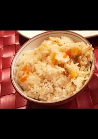 【みくり飯】生姜の炊き込みご飯