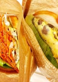 妊婦の糖質オフ◎野菜サンド(研究中)