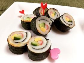 お弁当に♡竹輪deプチ海苔巻き
