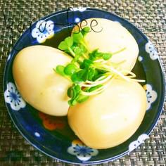簡単おつまみ*めんつゆ柚子こしょう味玉