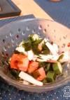 簡単副菜✩さっぱりネバネバ精力サラダ
