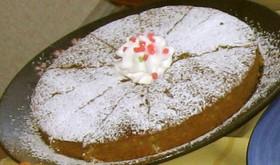 アイスでケーキ(^^♪~杏仁~