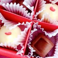 バレンタインチョコ 2種類トリュフ