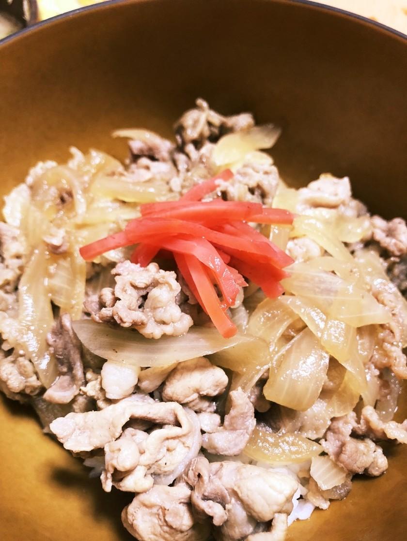 麺つゆで!簡単!吉野家風牛丼