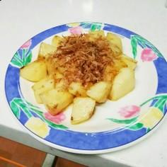簡単1品♡長芋のバター麺つゆソテー