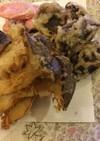 簡単♪エリンギと椎茸の天ぷら