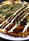 冷蔵庫の残り物で簡単!白菜豆腐のお好み焼