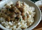 -納豆の食べ方-味噌がよく合います。