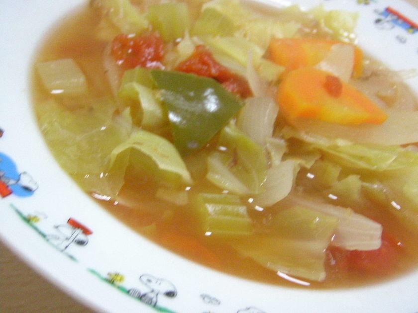 ダイエットの強い味方♪毒出しスープ