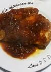 豚ロース肉のオニオンソーストンテキ