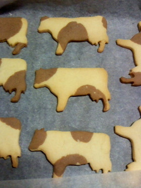 も~も~ 牛クッキー