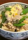 ♢春の惣菜♢ 鶏ひき肉と高野豆腐の卵とじ