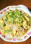 白菜と豚ひき肉の中華風あんかけ丼