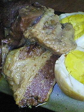 活力鍋で豚の角煮
