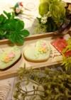贈り物にも最適♪お花のアイシングクッキー