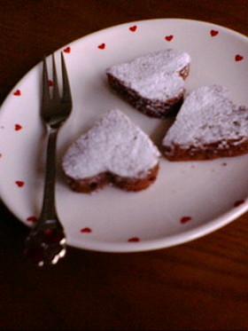可愛い♡ひとくちチョコケーキ