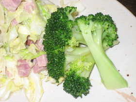 添え野菜ブロッコリー