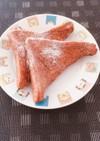 食パンで♡ミルクココアフレンチトースト♡