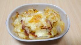 白菜ベーコンチーズ焼き