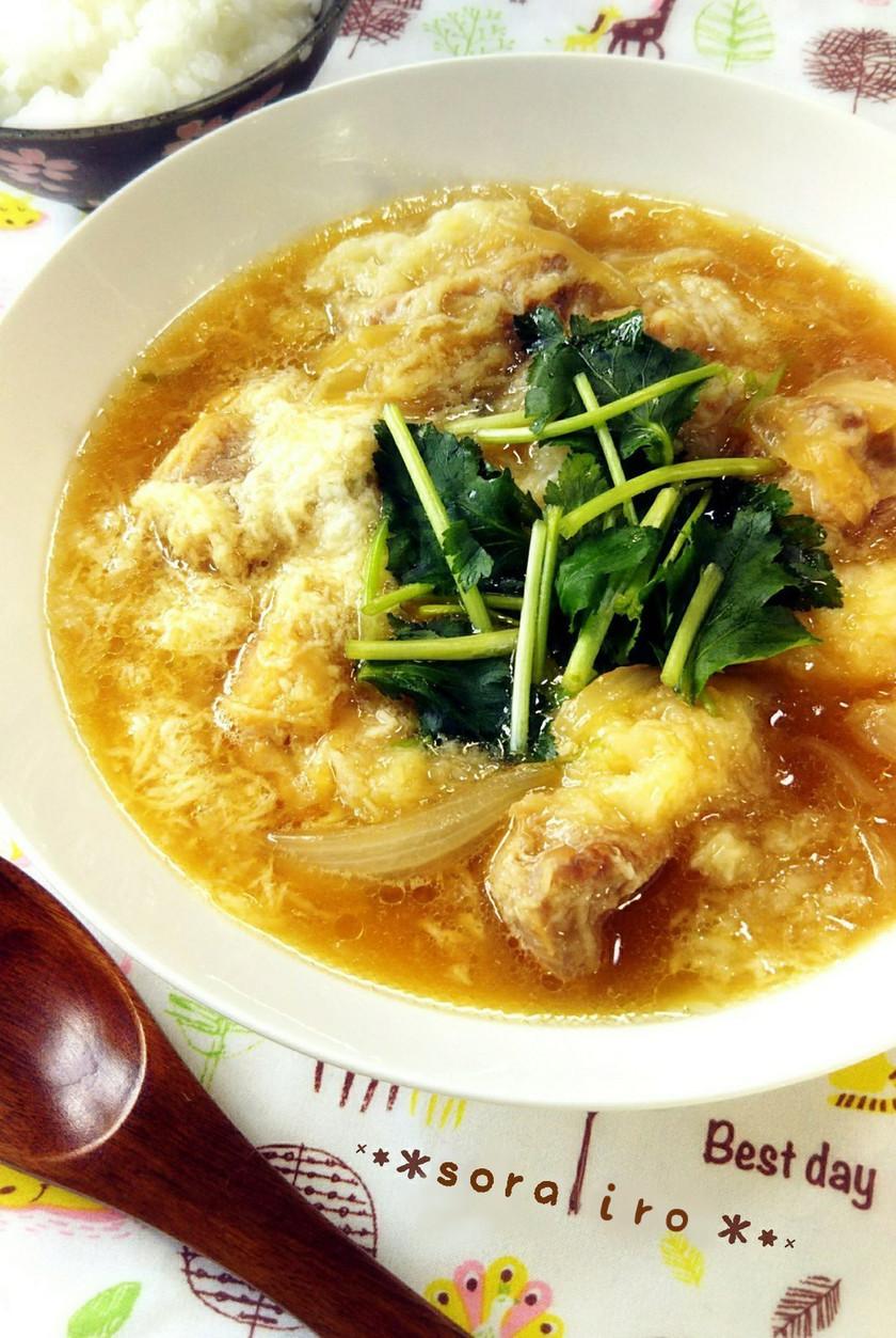 卵なしで*親子丼風・長芋と鶏のふわとろ丼