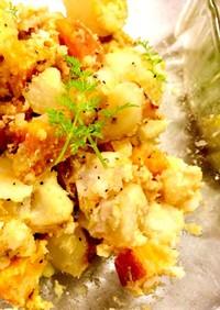 イエロービーツとポテトのサラダ