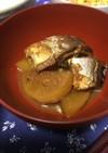 サバの味噌煮缶で簡単!大根の煮物