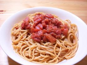 マスカルポーネ&トマトのパスタ