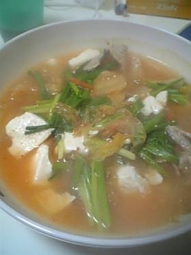 5分で簡単!あったかちげスープ