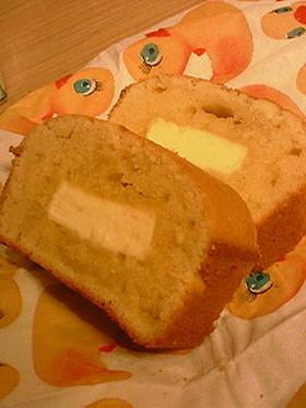 クリームチーズをそのまま!パウンドケーキ