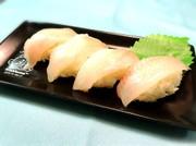 メバルの握り寿司の写真