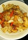むね肉のプルプル野菜炒め
